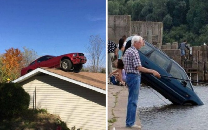 Фото автомобильных аварий