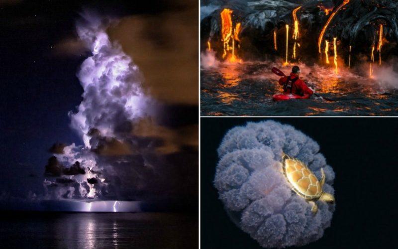 Удивительные фотографии, захватывающих моментов и открытий