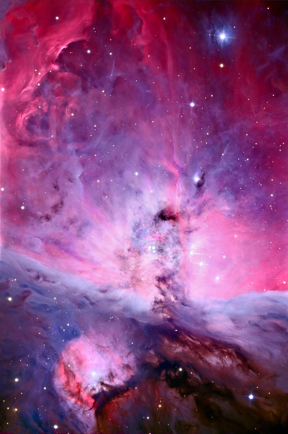 Туманность Ориона в самом высоком на сегодняшний день качестве.