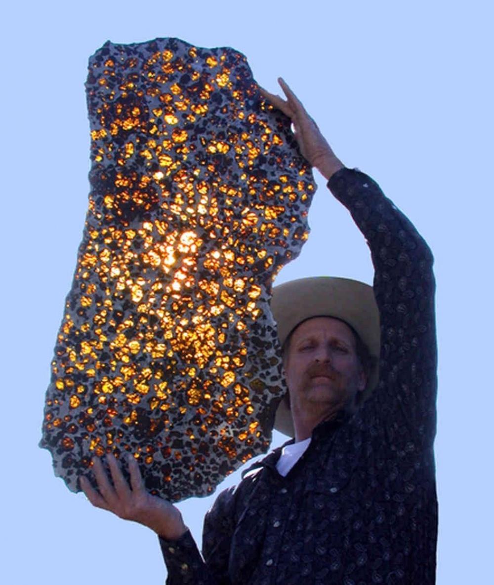 Метеорит Фукан — драгоценный подарок Вселенной. Ему уже 4,5 млрд лет.