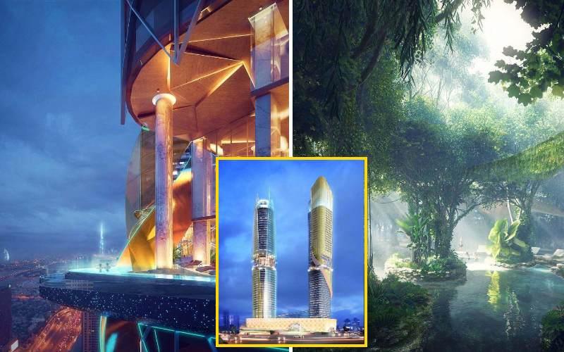 Rosemont Hotel & Residences или Тропический лес в Дубае. Как вам такое?