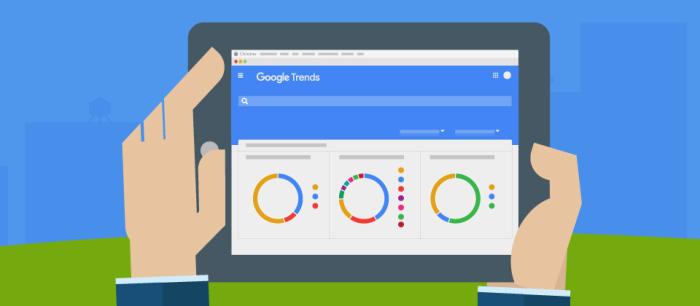 Google Trends: что интересует людей.