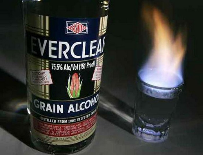 2. Everclear – 95%