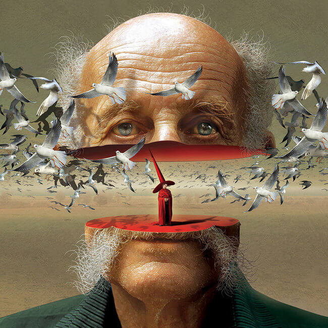 иллюстрации фотохудожника Игорь Морски из Польши