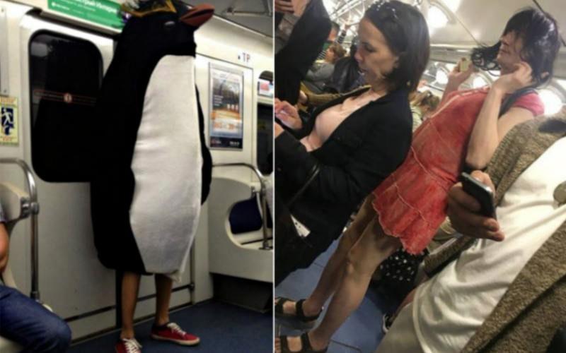 «Неделя моды» в российском метро