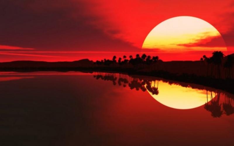 33 фотографии невероятно красивых закатов солнца