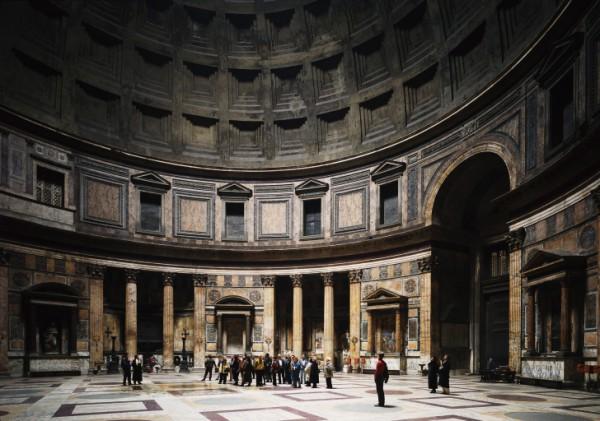16. Томас Штрут «Пантеон, Рим» ($1 810 000)