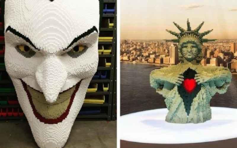 Удивительные вещи из LEGO