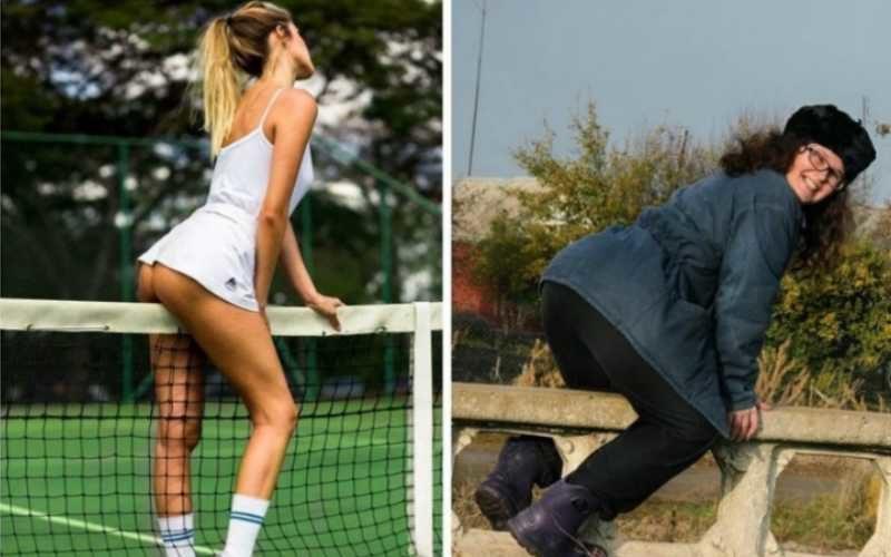 Смешные пародии на типичные женские фотографии