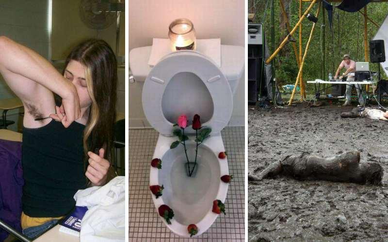 19 забавных ситуаций, глядя на которые возникает вопрос, какого хрена тут происходит?
