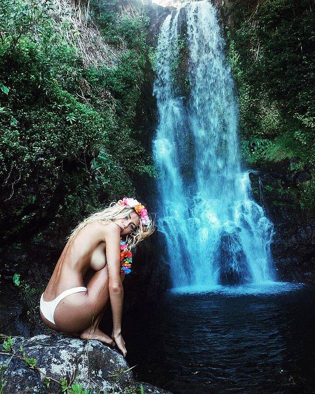 Очередная Инстаграм красавица - Сахара Рэй