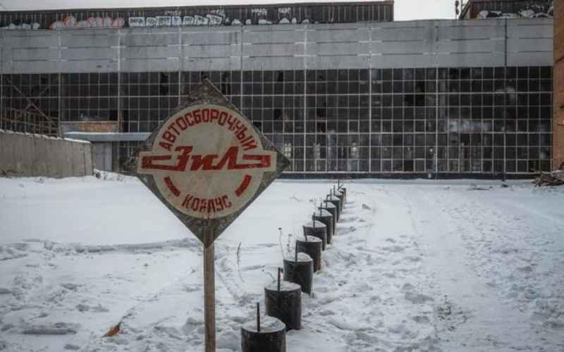 Фотографии с заброшенного завода ЗИЛ