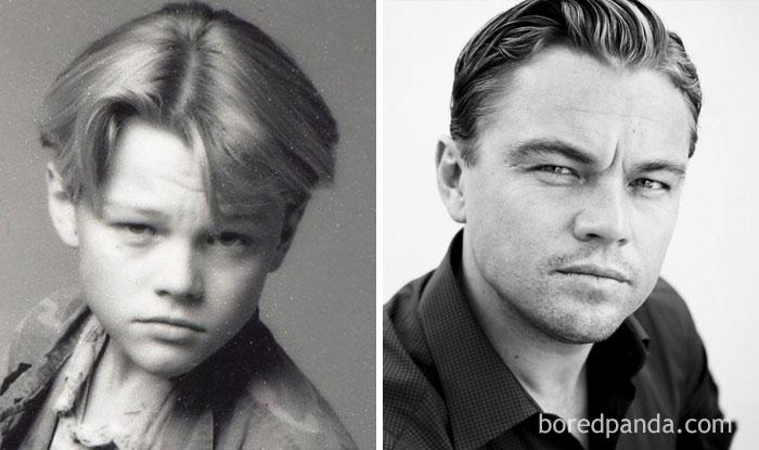 Редкие детские фотографии знаменитостей