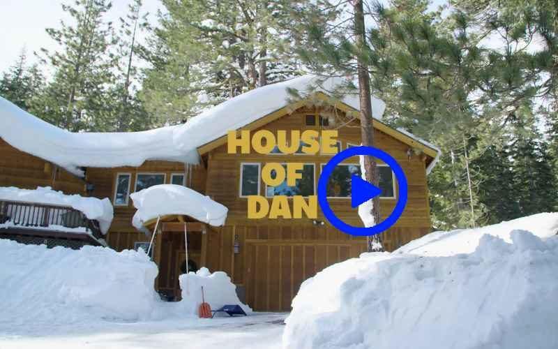 Парень превратил задний двор своего дома в горнолыжный центр
